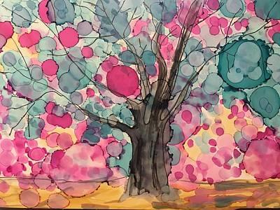 Painting - Happy Birthday Shelagh by Debbie Axiak