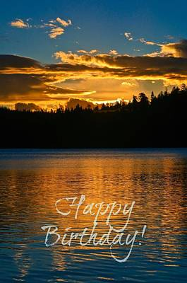 Photograph - Happy Birthday by Sherri Meyer