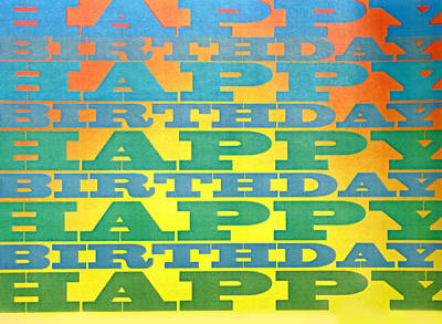Photograph - Happy Birthday Sunshine by Ian  MacDonald