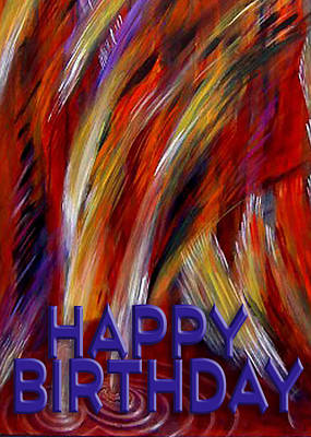 Painting - Happy Birthday  by Thomas Lupari