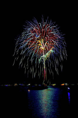 Photograph - Happy Birthday United States Of America 11 by Kay Brewer