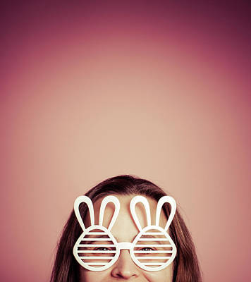 Photograph - Happy Bunny by Yvette Van Teeffelen