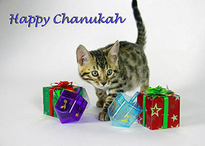 Photograph - Happy Chanukah  by Shoal Hollingsworth