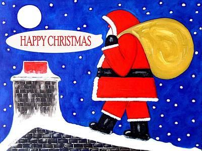 Happy Christmas 12 Art Print by Patrick J Murphy