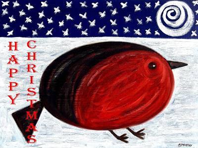 Happy Christmas 16 Art Print by Patrick J Murphy