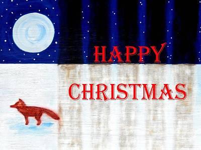 Happy Christmas 28 Print by Patrick J Murphy
