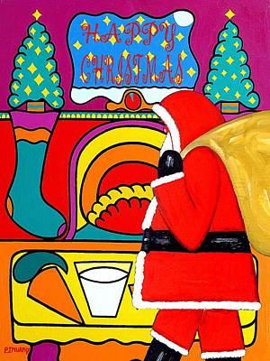 Happy Christmas 30 Print by Patrick J Murphy