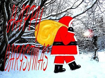 Happy Christmas 41 Art Print by Patrick J Murphy