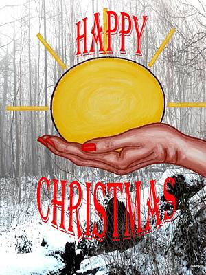 Happy Christmas 46 Art Print by Patrick J Murphy