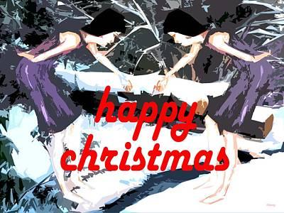 Happy Christmas 51 Art Print