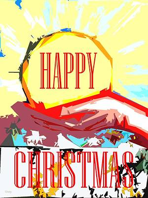 Happy Christmas 53 Art Print by Patrick J Murphy