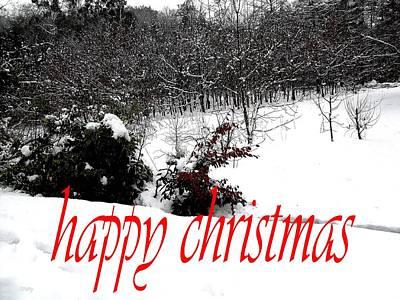 Happy Christmas 57 Art Print by Patrick J Murphy
