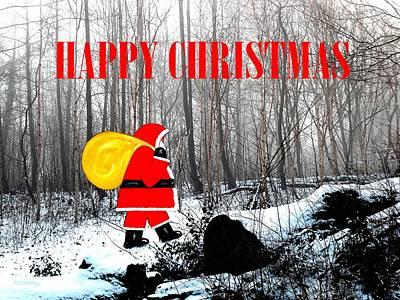 Happy Christmas 60 Art Print