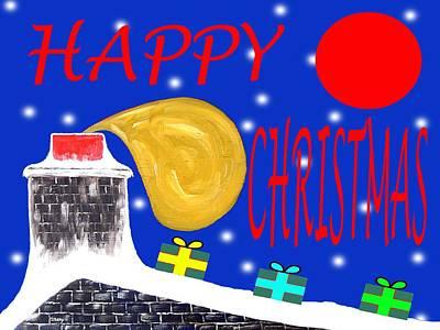 Happy Christmas 65 Art Print by Patrick J Murphy