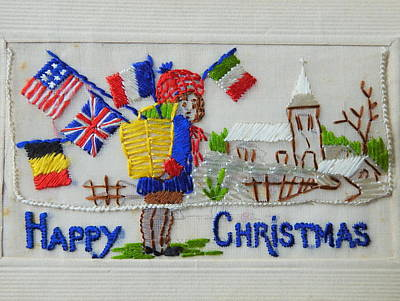 Photograph - Happy Christmas by Betty-Anne McDonald
