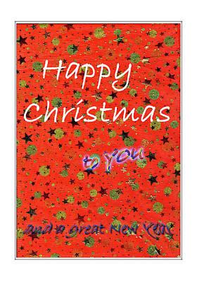 Photograph - Happy Christmas To You by Nareeta Martin