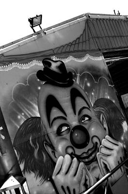 Happy Clown Art Print by Jez C Self