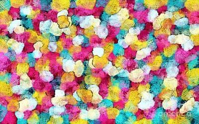 Digital Art - Happy Color by Honey Brown