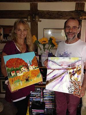 Photograph - Happy Customers by Rusty Woodward Gladdish