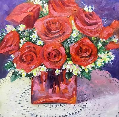 Painting - Happy Dance by Donna Pierce-Clark