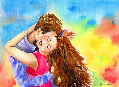 Painting - Happy Dance by Laura Rispoli
