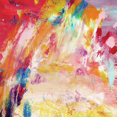 Painting - Happy Day- Abstract Art By Linda Woods by Linda Woods
