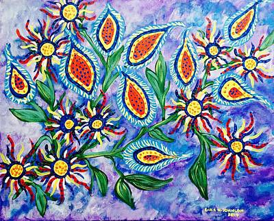 Painting - Happy Day by Gina Nicolae Johnson
