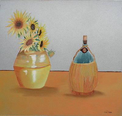 Dear Friend Pastel - Happy Days by Gordon Ogilvie