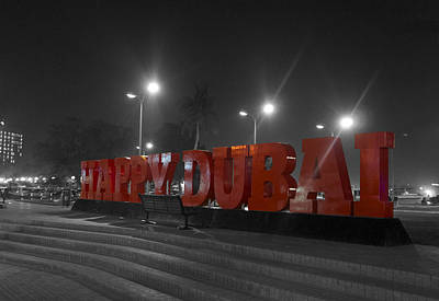 Souq Photograph - Happy Dubai by Art Spectrum