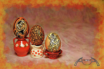 Photograph - Happy Easter by Afrodita Ellerman