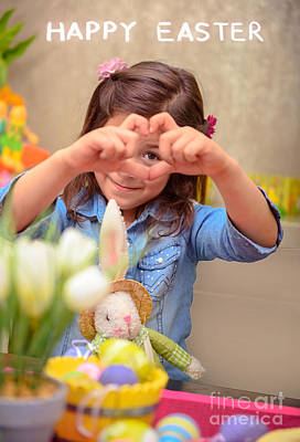 Photograph - Happy Easter by Anna Om