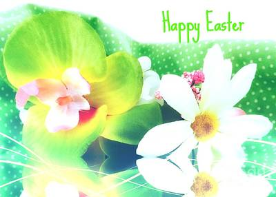 Photograph - Happy Easter by Jenny Revitz Soper