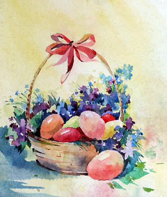 Painting - Happy Easter by Natalia Eremeyeva Duarte