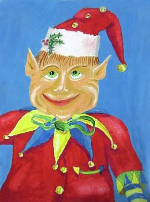 Happy Elf Original by Gordon Wendling