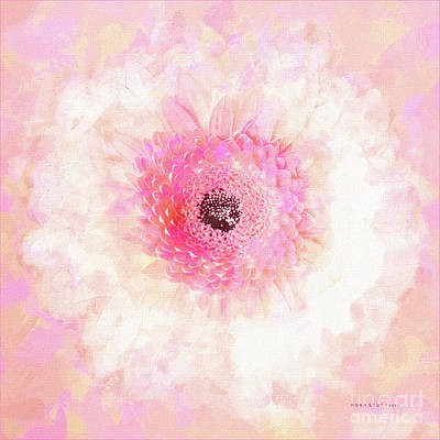 Gerber Daisy Digital Art - Happy Face Just For You by Mona Stut