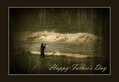Photograph - Happy Father's Day Card 1 by Angie Tirado
