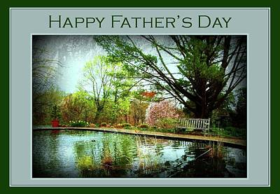 Photograph - Happy Father's Day Card 2 by Angie Tirado