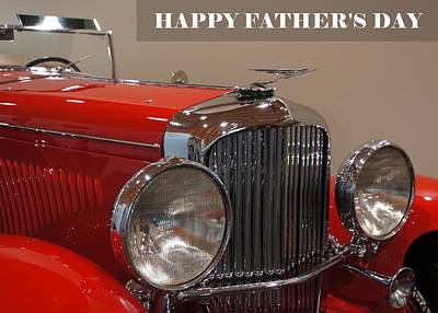 Photograph - Happy Father's Day Card by Patricia Strand