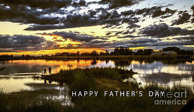 Photograph - Happy Father's Day by Robert Bales