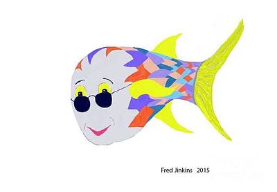 Happy Fish Touring Original by Fred Jinkins