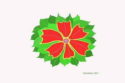 Digital Art - Happy Flower by Fred Jinkins