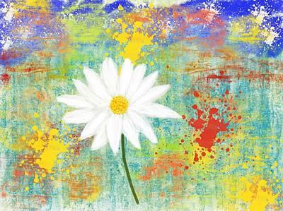 Digital Art - Happy Flower by Melinda Dreyer