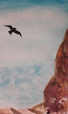 Painting - Happy Fly by Jesus Nicolas Castanon