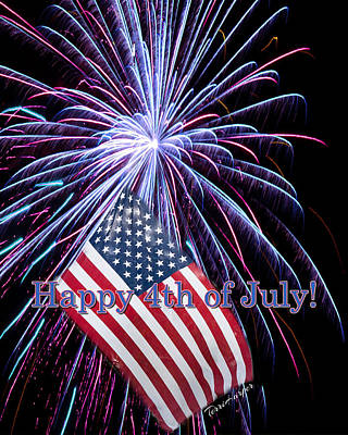 Photograph - Happy Fourth Of July by Terri Harper