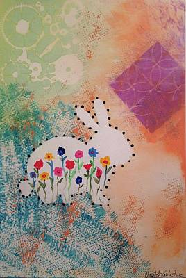 Painting - Happy Garden by Christal Kaple Art