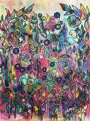 Painting - Happy Garden by Heather McKenzie