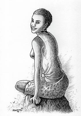 Happy Girl Original by Anthony Mwangi