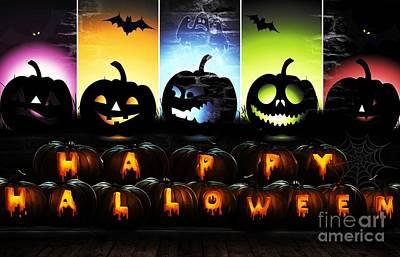 Happy Halloween 1 Original by LDS Dya