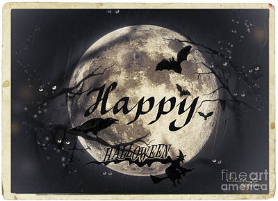 Digital Art - Happy Halloween by Chris Armytage