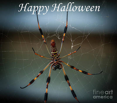 Photograph - Happy Halloween by Dale Powell